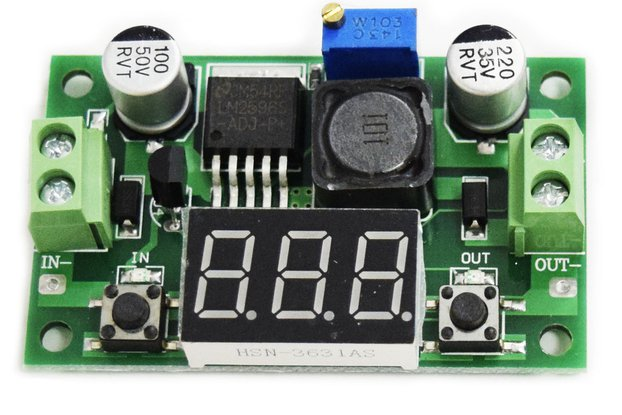 LM2596 DC-DC 4-40V to 1.25-37V 2A step-down power