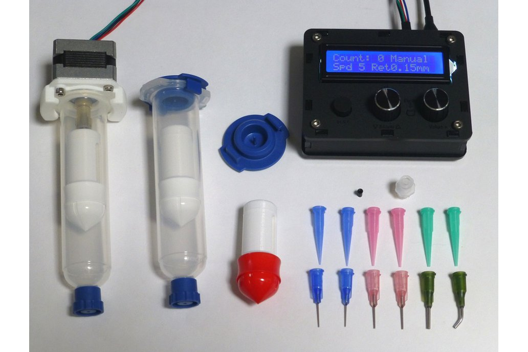 DM – Solder paste and adhesive dispenser 1