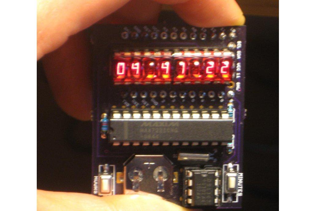 """""""Double bubble"""" clock shield for ProMini 1"""
