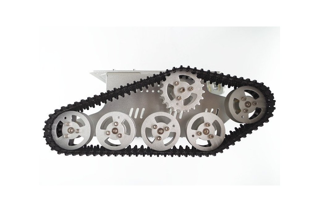 T300 Aluminum Alloy Metal Tracked Tank chassis  2