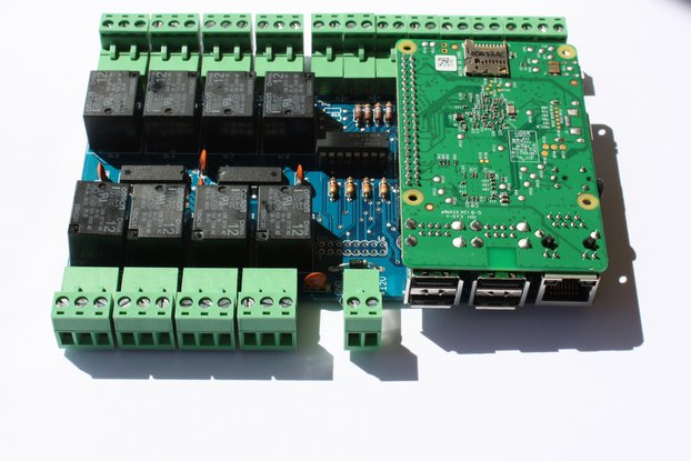 OssoPI - Raspberry PI model 2b - 1b+ I/O expansion
