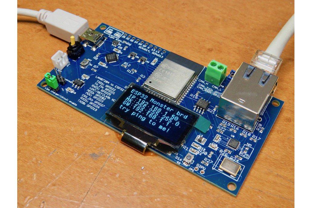 GRANDE ESP32 Monster board 1