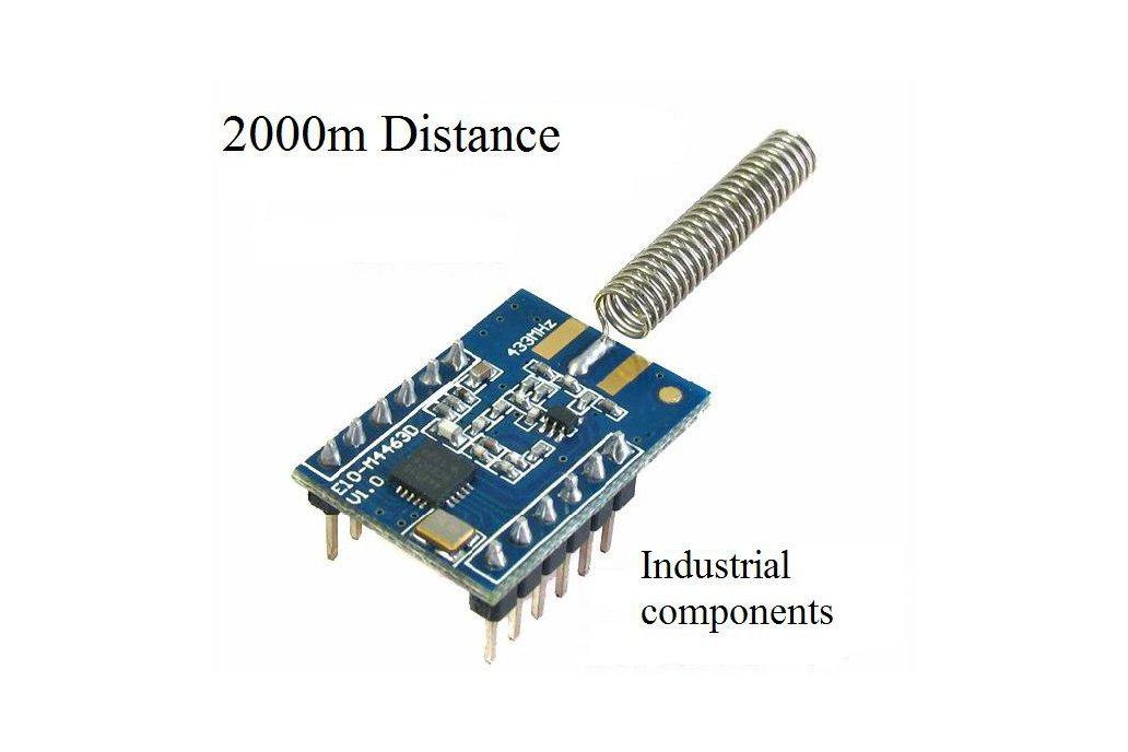 2000M Wireless transceiver rf module 1