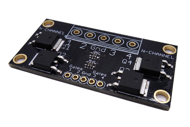4-Channel logic level MOSFET boards