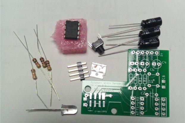 3D Printer Filament width Sensor PCB Kit