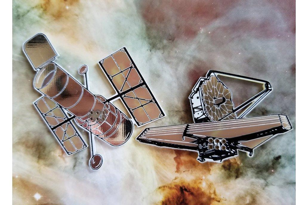 Telescope SAOs- Hubble & James Webb 1