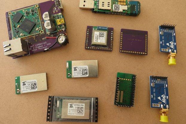 ZigBee & ARM linux + 3.5G GSM  WiFi & LORA
