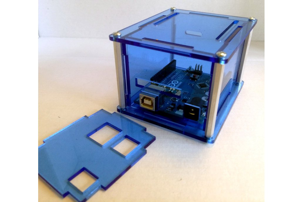 "Arduino Uno Project Enclosure ""Duo II"" 1"