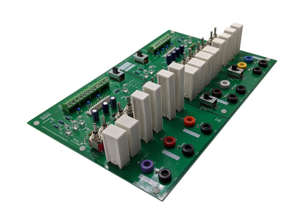 Multi output power supply load system: PCB + parts 1