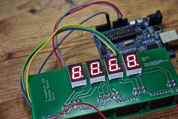 7-Segments LED Display Arduino Kit