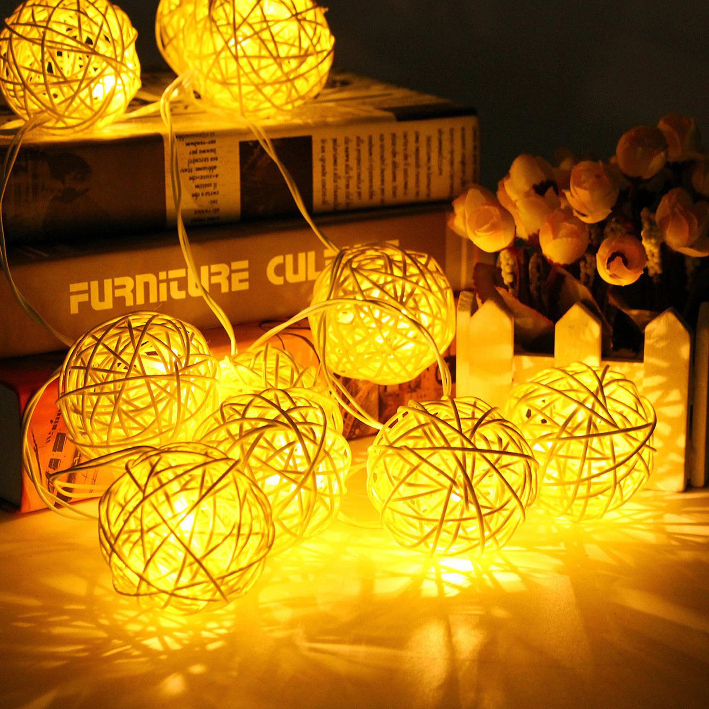 ball string christmas led lights 1