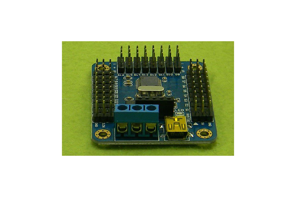 Mini USB 16 path servo motor control board 2