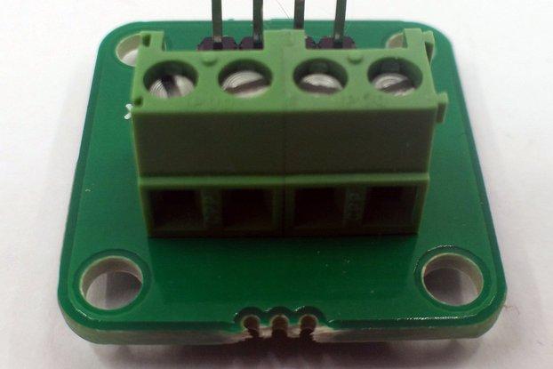 4-Way Header to Terminal Block Adapter