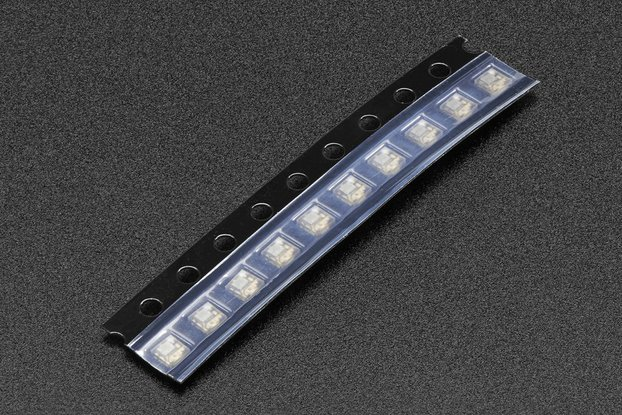 Digital Addressable RGB APA102 2020 LED, Bag of 20