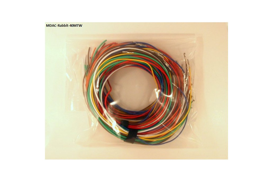 Rabbit ECU Mixed Terminated Wire 40 Pack 1