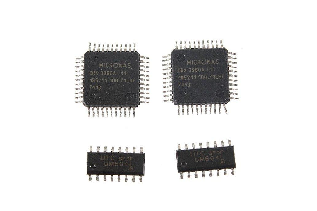 5 Pc SMD Component Solder Practice Kit 6