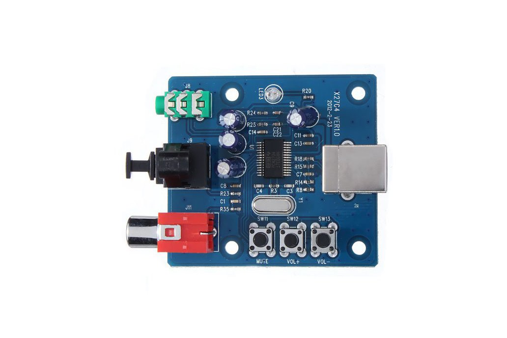 Sound Card Analog Output Decoder Board 1