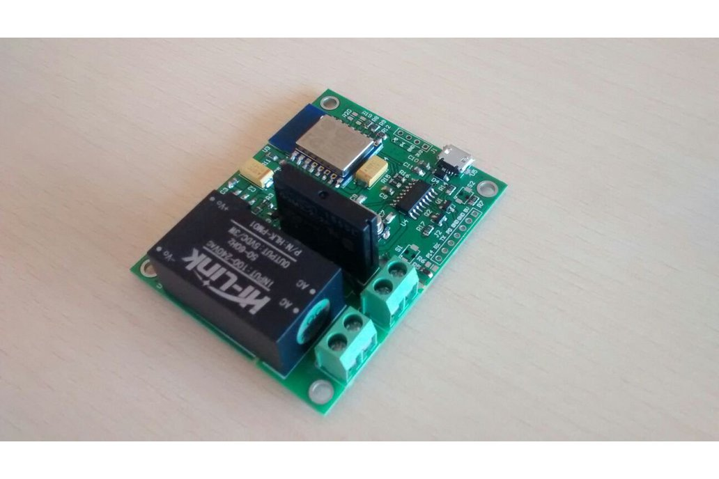Wifi Esp8266 Solid State Relay SSR Board for IOT 3
