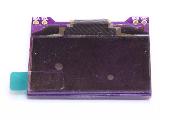 Bezel-free SH1106 OLED