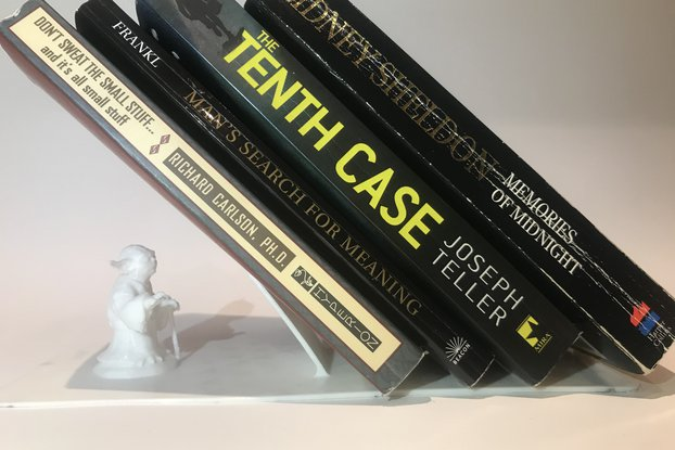 3D printed Bookend