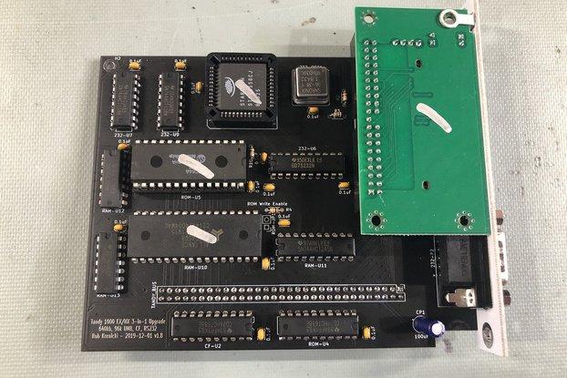 Tandy 1000 EX/HX 3-in-1 Upgrade