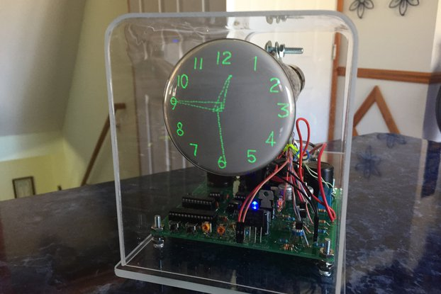 "Oscilloscope Clock 3"" Cathode Ray Tube 3GP1"