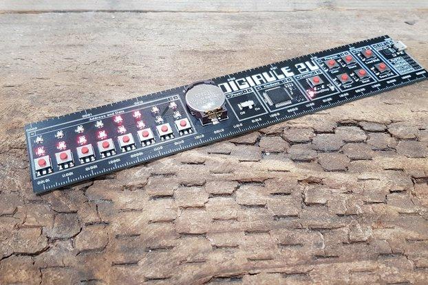 Digirule2 - The 8-bit Programmable Binary Ruler