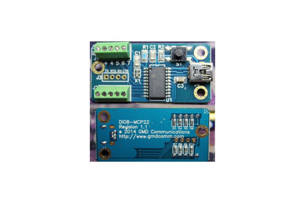 USB to UART w/8 selectable Digital I/O  1