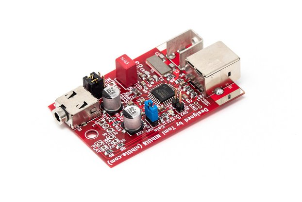 USBHI – Compact USB headset interface (ADC/DAC)