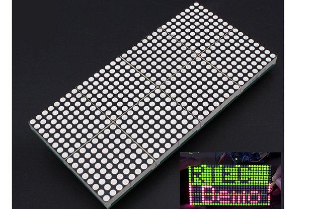 16x32 Dot Matrix Display Module DIY Kit (4985)