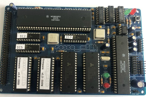 Rosco-m68k Revision 1.23