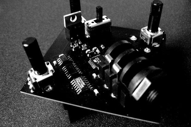 micro-blackdeath (yersinia pestis) noise synth