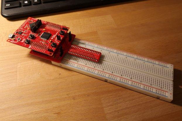 Breadboard Breakout for MSP-EXP430F5529LP