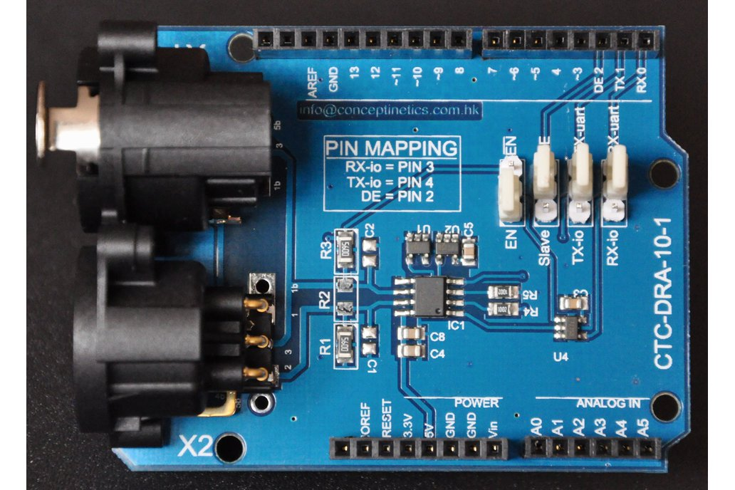DMX Shield for Arduino (RDM Capable) 1