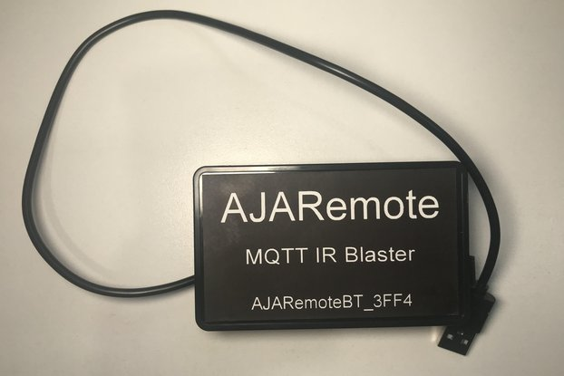 AJARemote - MQTT driven IR Blaster