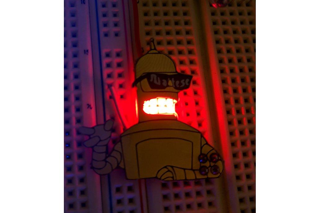Future-O-Rama Golden Bend-her Robot SAO 2