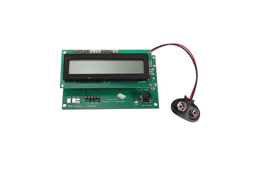 Transistor Tester Capacitor ESR Inductance Resistor Meter 1