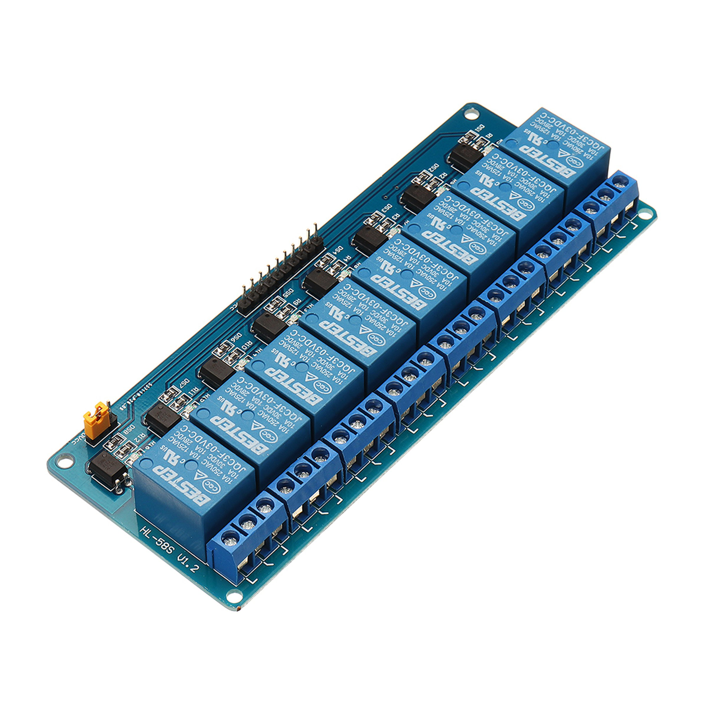 Driver Relay Control Board Low Level For Arduino From Store Electronic 3