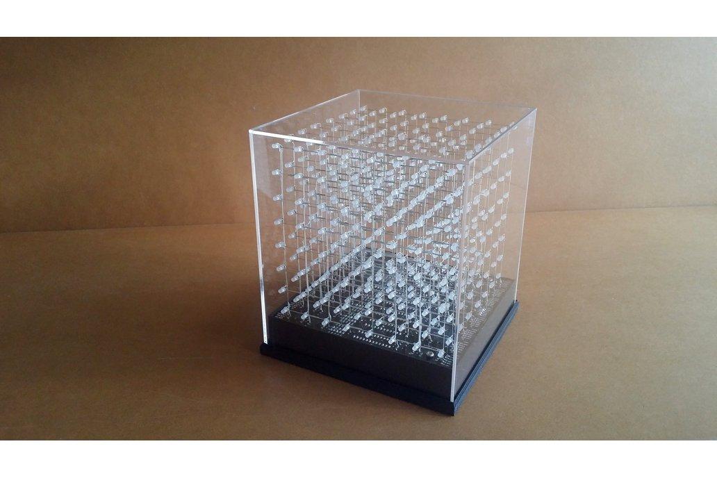jolliCube – 8x8x8 LED Cube (SPI) DIY Kit 2