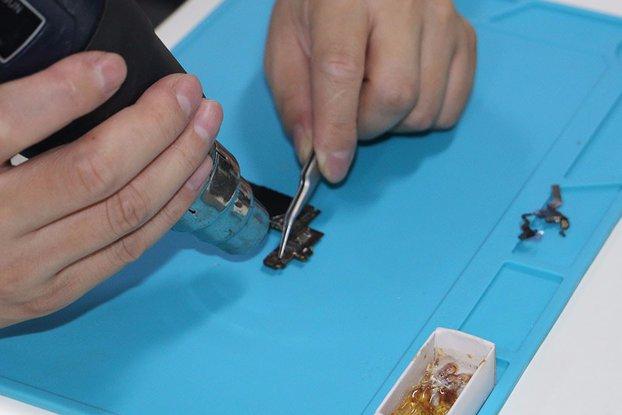DANIU 34x23cm Heat Resistant Silicone Pad Desk