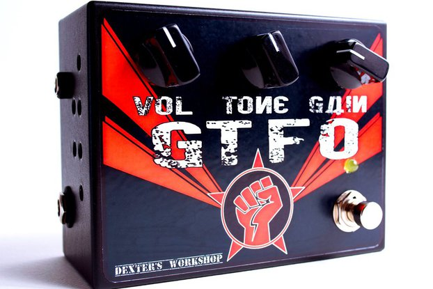 THE GTFO - Full Tube / High Gain - Guitar OD