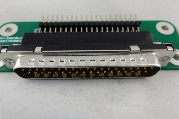 DB-37 to Ribbon Cable Adapter Card