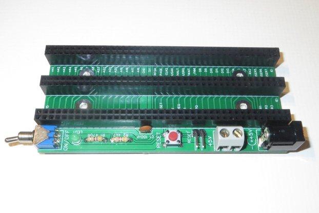 SC116 3-slot Backplane Kit for RC2014