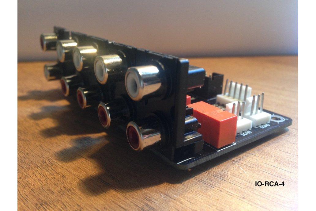 Unbalanced Audio Input Selector Relay Module Board 1