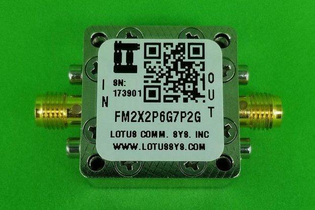 Freq. Multiplier X2 (2.6G to 7.2GHz) FM2X2P6G7P2G