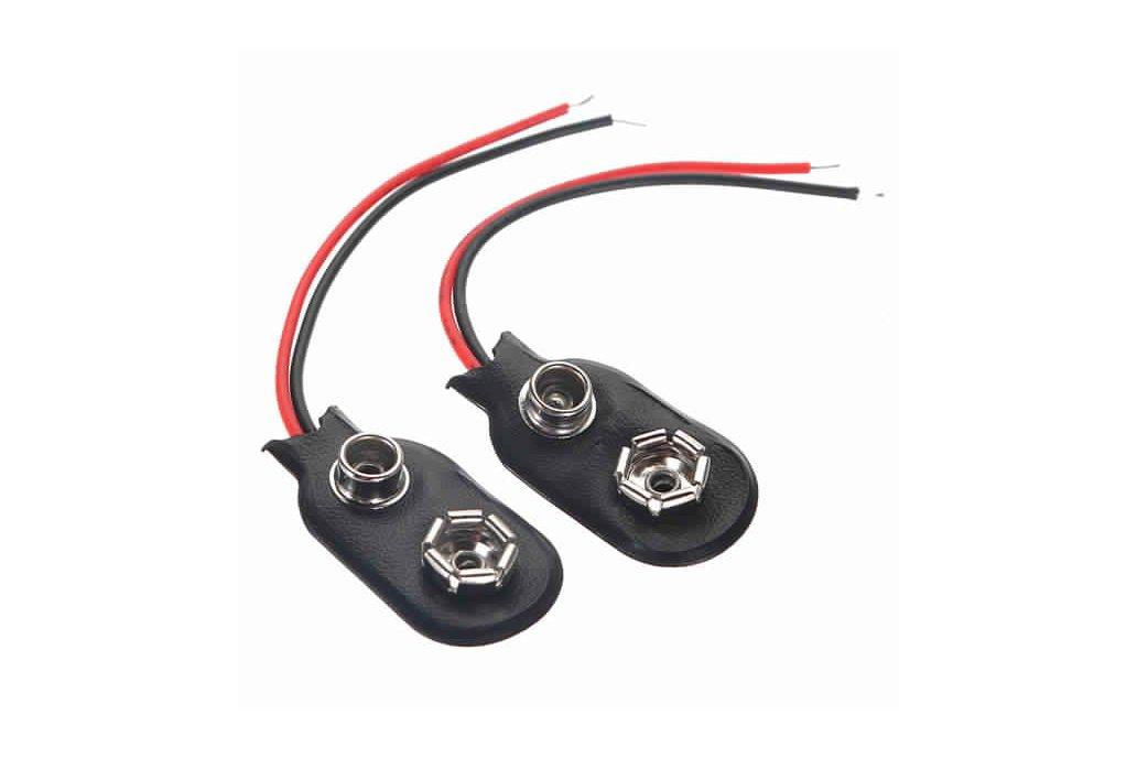 9Volt Battery Clip Connectors 9V 2
