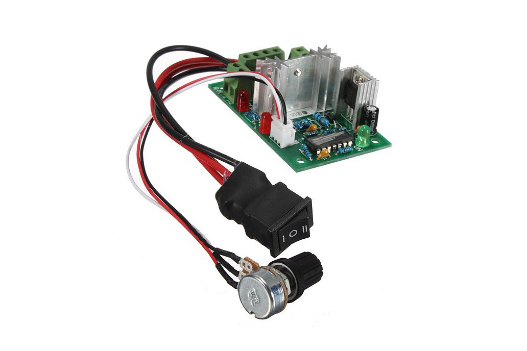 DC Motor Speed Switch Controller 1