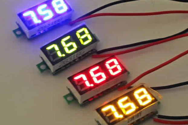 Geekcreit® 0.28 Inch 2.5V-30V Mini Digital
