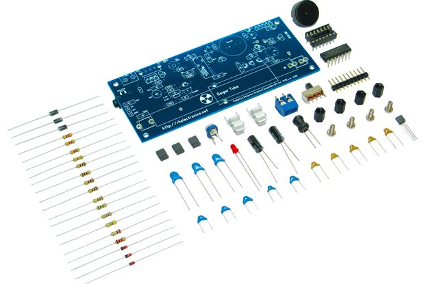 Geiger Counter Radiation Detector DIY Kit
