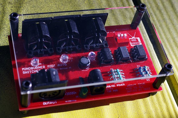MINDBURNER 3 into 1 MIDI auto switch unit & cover